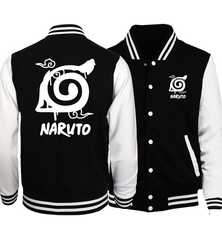 Naruto Baseball Sweatshirts Spring Autumn Unisex - Anime Hero Shop