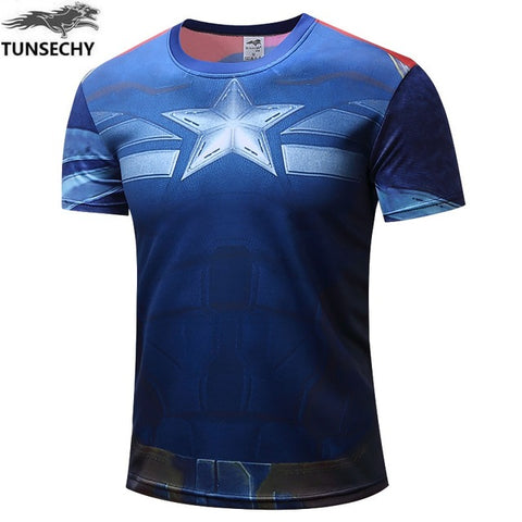 Image of New Marvel Superheros T-shirt Avengers for men - Anime Hero Shop