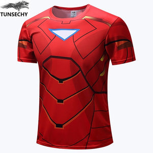 New Marvel Superheros T-shirt Avengers for men - Anime Hero Shop
