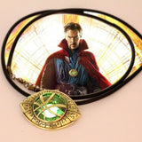 Doctor Strange Eye of Agamotto Amulet GLOW In THE DARK Pendant Necklace - Anime Hero Shop
