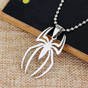 Spiderman Stainless Steel Charm Pendant - Necklace - Anime Hero Shop
