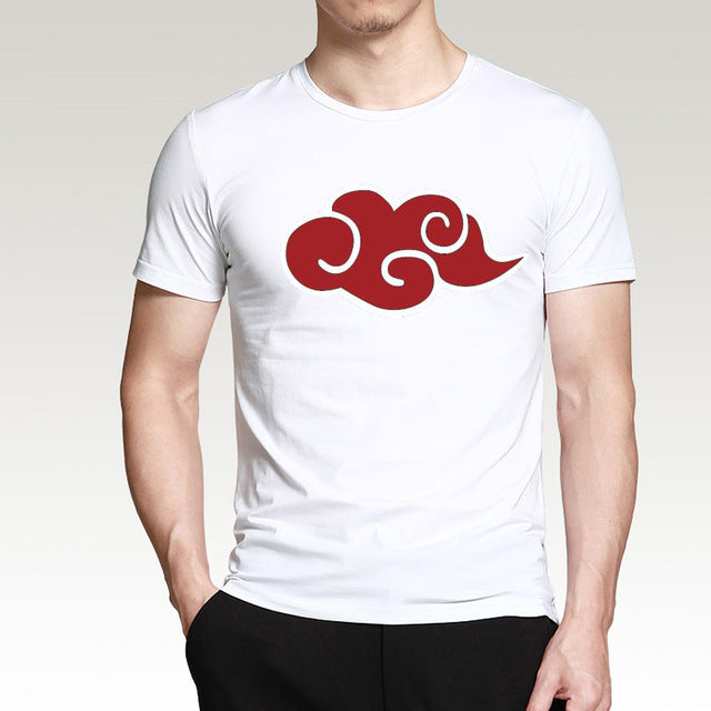Akatsuki Red Cloud T-Shirt 100% Cotton (9 Colors) - Anime Hero Shop