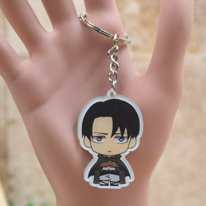 Attack on Titan acrylic Keychain Action Figure Pendant Accessories  Key Ring - Anime Hero Shop
