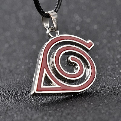 Image of 8 style Naruto necklace with rope - Hokage metal necklace for men/women - Anime Hero Shop