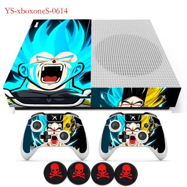 Lit DBZ XBOX Skins Vinyl Sticker Protective Skin Decal +GIFTS For XBOX ONE Slim Console