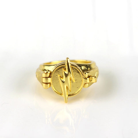 Image of The Flash Rings for Women Men Lighting Jewelry - Anime Hero Shop
