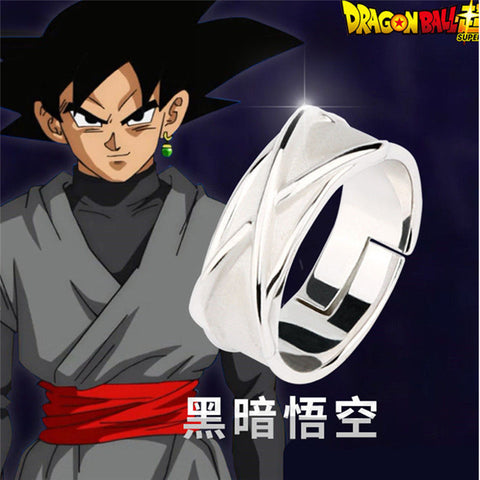 Goku Black Time Ring (Silver)