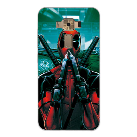 Image of Phone Case Charming Marvel Avengers Fundas For Zenfone 3 ZE520KL - Anime Hero Shop