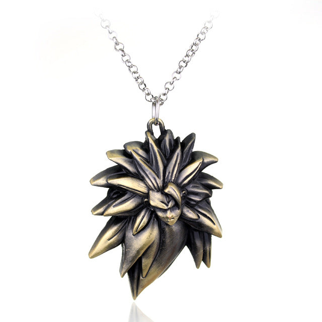 DBZ Super saiyan head DBZ Alloy Pendant