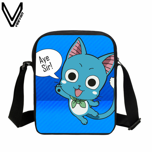 Fairy Tail Mini Bag School Children Shoulder Bags