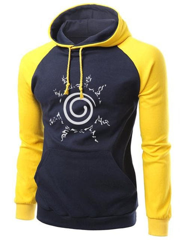 Image of Autumn Winter Warm Sweatshirts Men Raglan Hoodie (4 Styles) - Anime Hero Shop