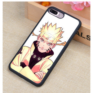 Naruto Phone Cases For iPhone 7 7 Plus 6 6S Plus 5 5S 5C SE 4S 4 Soft Rubber Cover - Anime Hero Shop