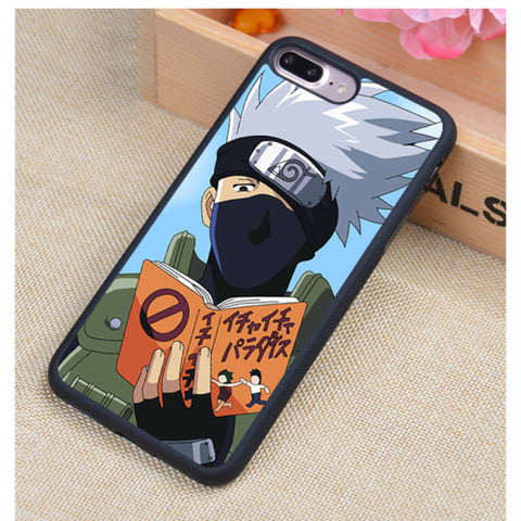 Image of Naruto Phone Cases For iPhone 7 7 Plus 6 6S Plus 5 5S 5C SE 4S 4 Soft Rubber Cover - Anime Hero Shop