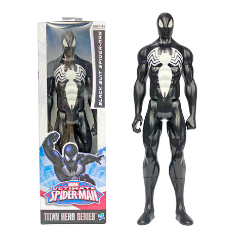 Image of Ultimate Spiderman Captain America Iron Man PVC