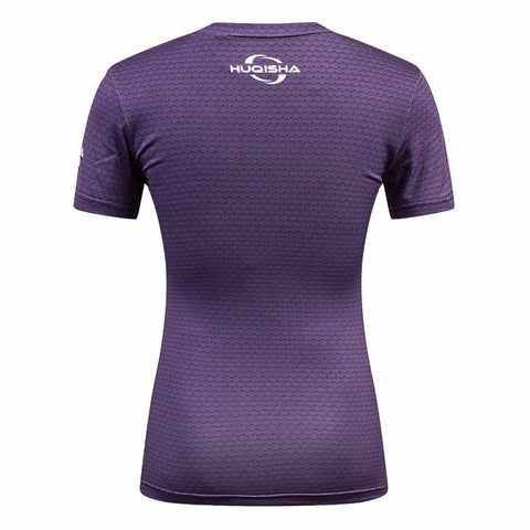 Image of Hot Women Compression fitness shirts Superhero Tops