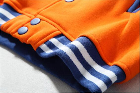 Dragon Ball Baseball Jacket Long Sleeve - Anime Hero Shop