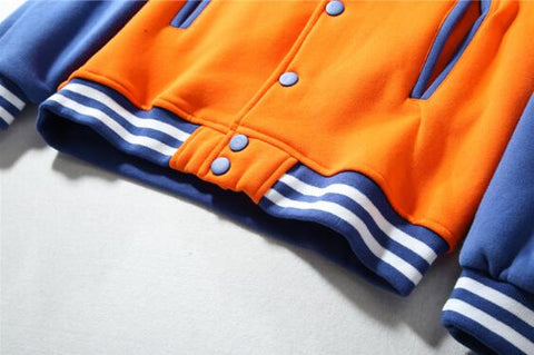 Dragon Ball Baseball Jacket Long Sleeve