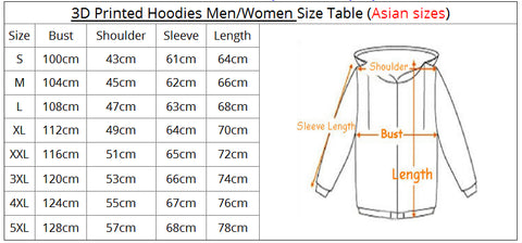 2018 MEN WOMEN KENPACHI ZARAKI 11TH DIVISION 3D Hoodie - Anime Hero Shop