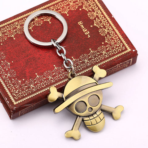 Image of Luffy Straw Hat Keychain - Anime Hero Shop
