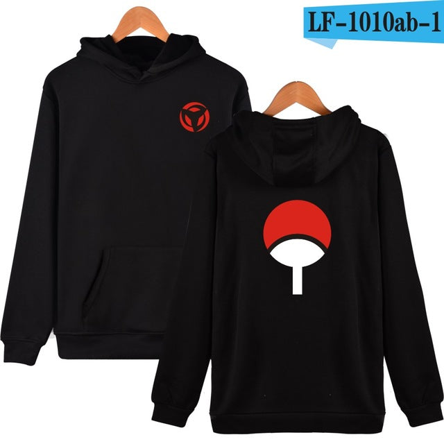 Uchiha Sharingan Hooded Unisex (5 Colors) - Anime Hero Shop