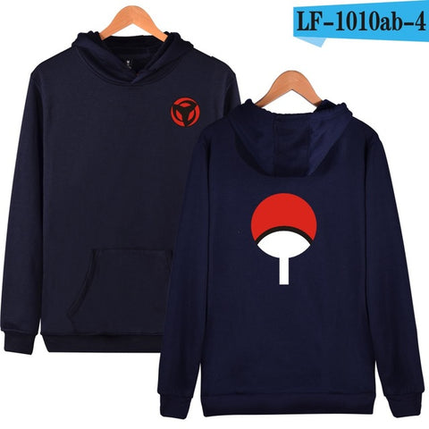 Image of Uchiha Sharingan Hooded Unisex (5 Colors) - Anime Hero Shop