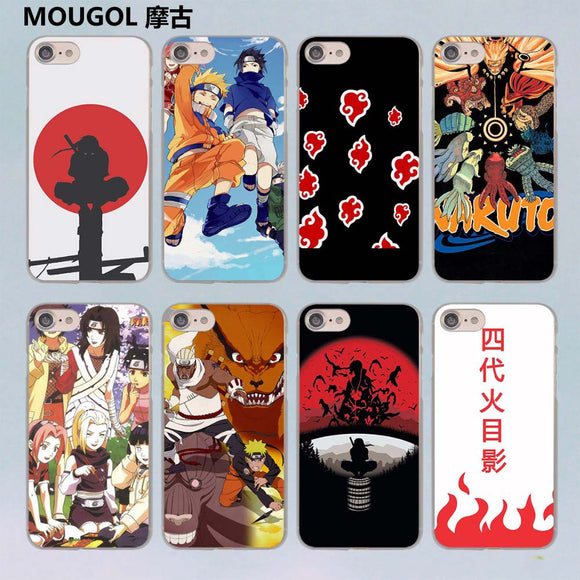 Naruto hard case cover for Apple iPhone 7 7Plus 6S 6 Plus 5 5s SE 5C