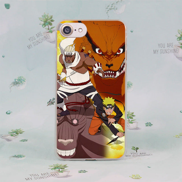 Naruto hard case cover for Apple iPhone 7 7Plus 6S 6 Plus 5 5s SE 5C - Anime Hero Shop