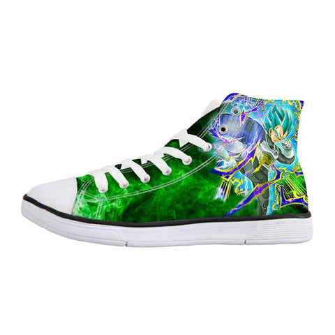 Image of Dragon Ball Z Print Mens Canvas Shoes 2 - Anime Hero Shop