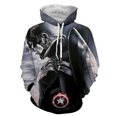 Image of New Captain America hot Style Hoodies - Anime Hero Shop