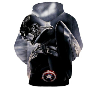 New Captain America hot Style Hoodies - Anime Hero Shop