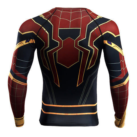 Image of Iron Spider Infinity War Long Sleeve T'shirt - Anime Hero Shop