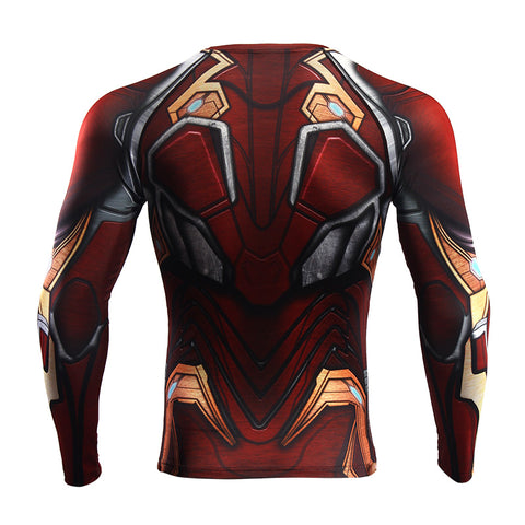 Image of Iron Man Infinity War Long Sleeve T'shirt - Anime Hero Shop