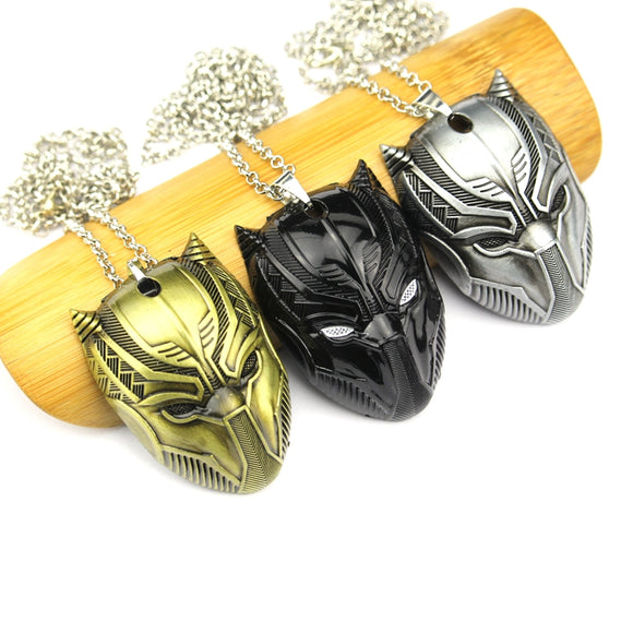 Black Panther Necklaces Fashion Men Women Gift Jewelry