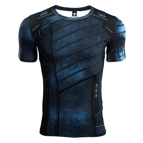 Winter Soldier Infinity War Short Sleeve T'shirt - Anime Hero Shop