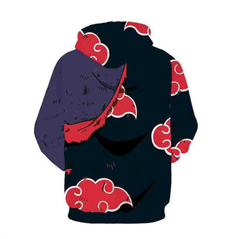 Image of Akatsuki Red Cloud Hoodies - Anime Hero Shop