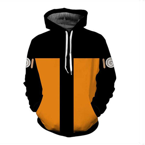 Uzumaki Clan Naruto 3D Unisex Hoodie - Anime Hero Shop