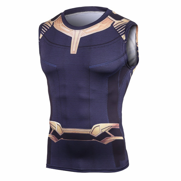 Thanos Compression Crossfit Tops ( Non & Short Sleeve )