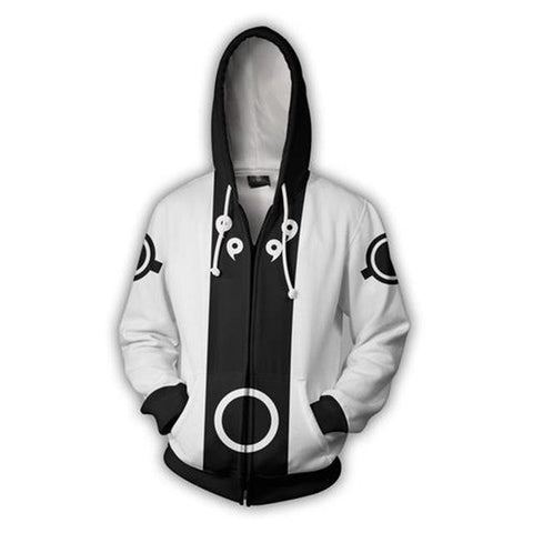 Image of Obito Naruto Shippuden 3D Print Black Hoodie - Anime Hero Shop
