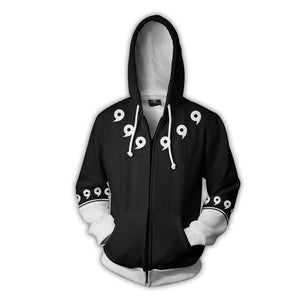 Obito Naruto Shippuden 3D Print Black Hoodie - Anime Hero Shop