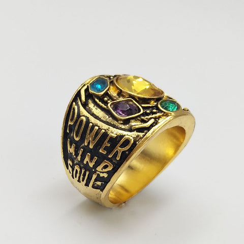 Image of Infinity War Thanos Infinity Ring - Anime Hero Shop