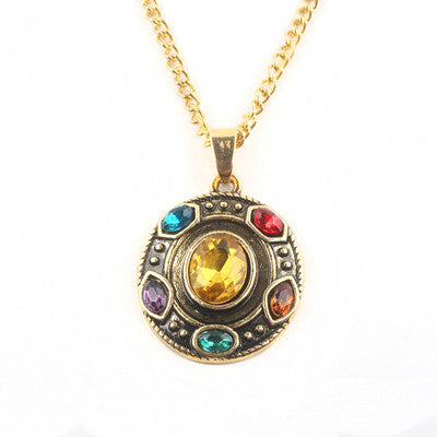 Image of Avengers 3 Infinity War Thanos Infinity Necklace ( 3 Styles ) - Anime Hero Shop