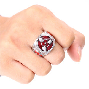 2018 Naruto Sharingan Rings Metal Quality Gifts Jewelry