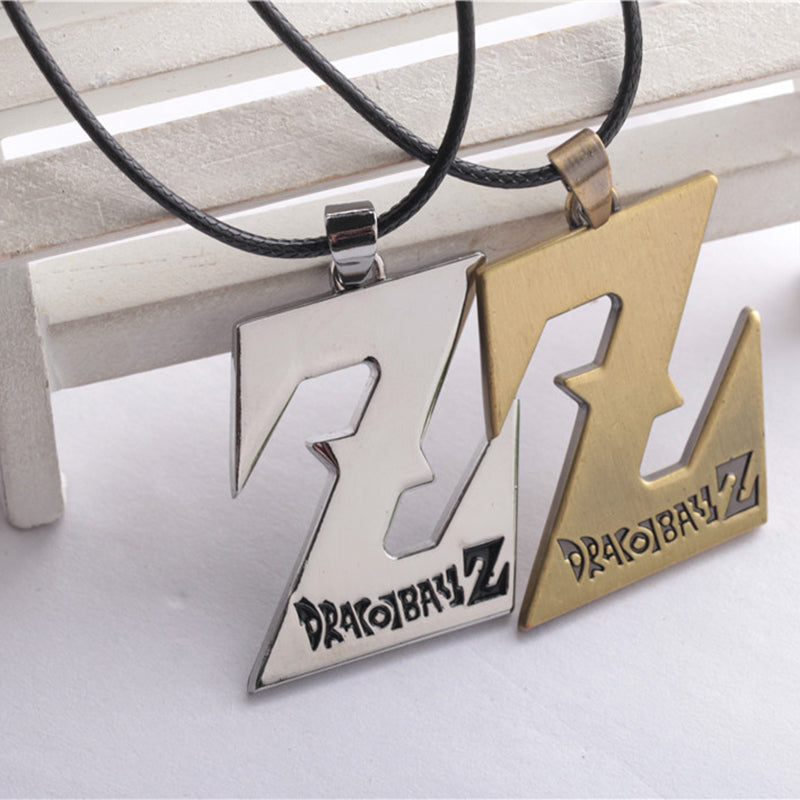 DBZ Alloy Pendant Cosplay Chain Necklaces
