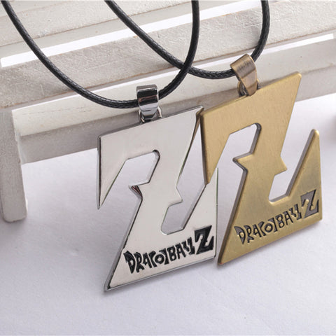 Image of DBZ Alloy Pendant Cosplay Chain Necklaces