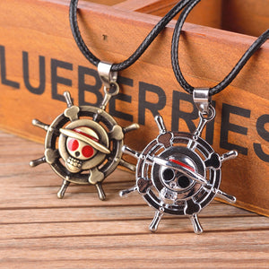 Cosplay Monkey D Luffy Cute Cartoon Doll One Piece Necklace