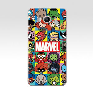 Marvel Hard  Case Cover for Samsung Note 3 4 5 8 for Galaxy a3 a5 2017 j3 j5 j7 2015 2016 2017 - Anime Hero Shop