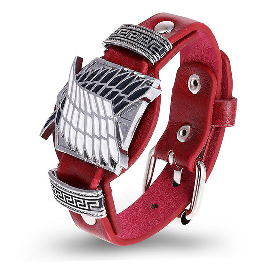 2018 Attack on Titan Red Bracelets