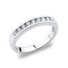 14K White Gold Diamond Wedding/Anniversary Band