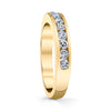 14K Yellow Gold Diamond Wedding/Anniversary Band