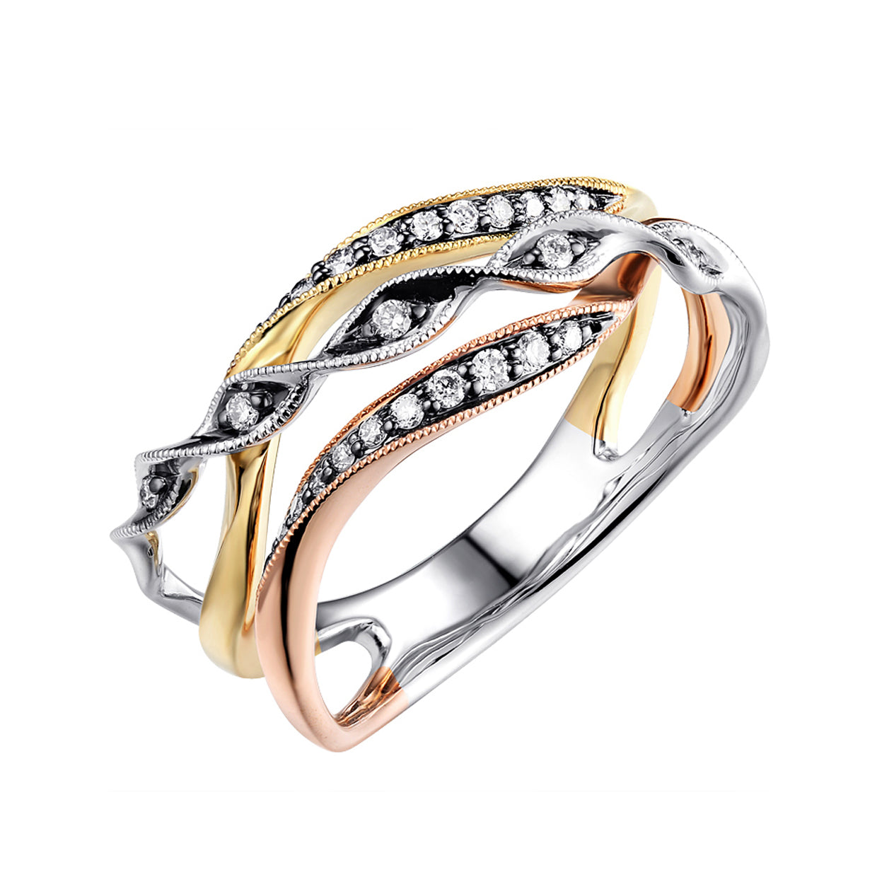 fashion of image centres diamond tw gold product white ct charm ring
